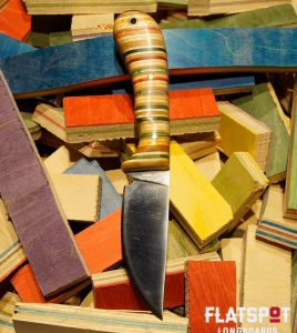 Flatspot Camping Knife, Skate Knife, Skater Made, Flatspot Longbaords, Reuse, Recycle_0000s_0002_#35 Side