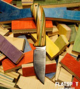 Flatspot Camping Knife, Skate Knife, Skater Made, Flatspot Longbaords, Reuse, Recycle_0000s_0005_#36 Side