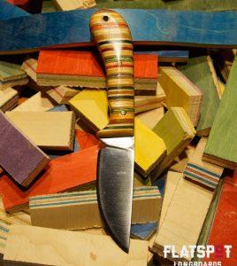 Flatspot Camping Knife, Skate Knife, Skater Made, Flatspot Longbaords, Reuse, Recycle_0000s_0011_#38 SIde