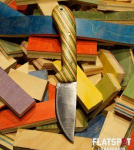 Flatspot Camping Knife, Skate Knife, Skater Made, Flatspot Longbaords, Reuse, Recycle_0000s_0025_#43 Side