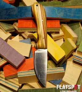 Flatspot Camping Knife, Skate Knife, Skater Made, Flatspot Longbaords, Reuse, Recycle_0000s_0034_#46 Side