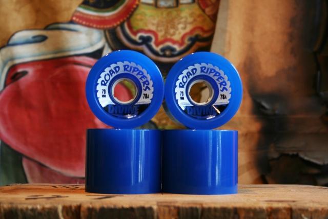 Divine road rippers 70mm dark blue