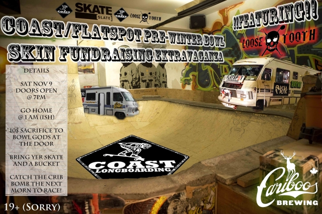 Coast-Flatspot Bowl Fundraiser