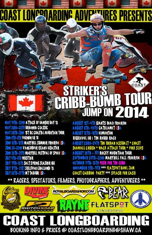 cribb bomb tour 2014
