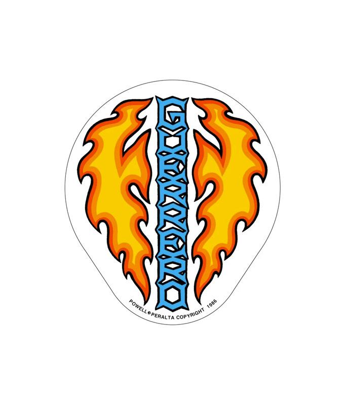 Bones Brigade Powell Peralta Skateboard sticker 2013 Crown Logo sticker