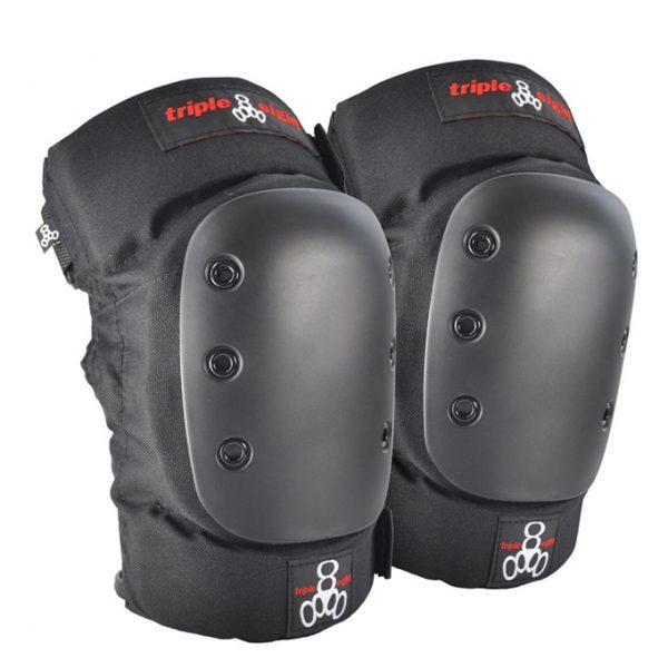 Triple 8 Street 2//Pack S Black Knee//Elbow Pad Set